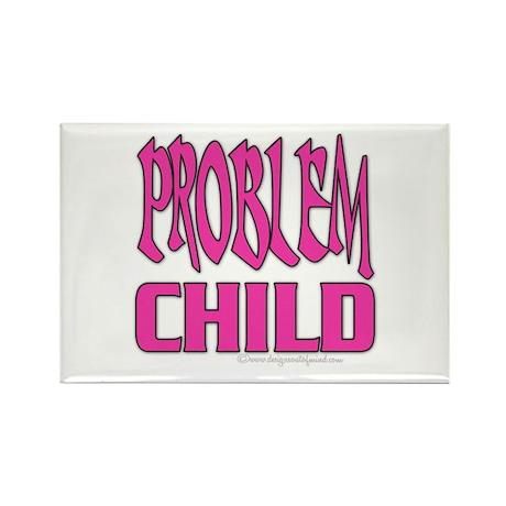 Problem Child Rectangle Magnet (100 pack)