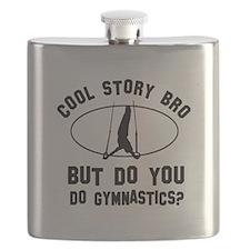 Gymnastics designs Flask