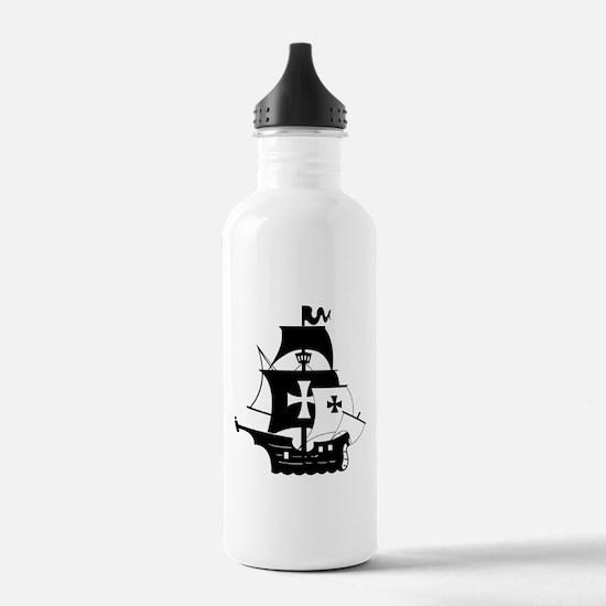 pirate ship Water Bottle