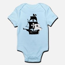 pirate ship Body Suit