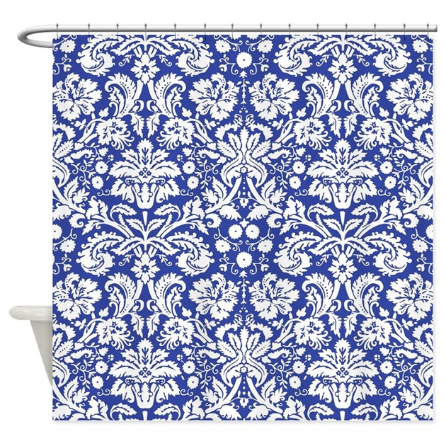 Charming Royal Blue Shower Curtain Set Images  Plan 3D house Great Pictures Inspiration Bathtub for