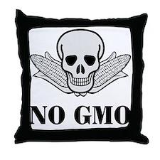 NO GMO Throw Pillow
