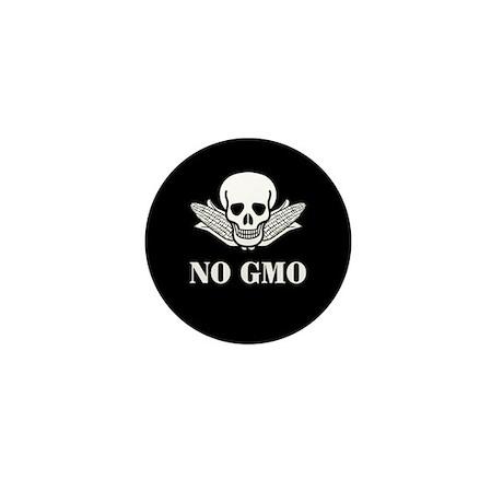 NO GMO Mini Button (100 pack)