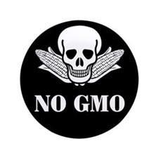 "NO GMO 3.5"" Button"