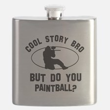 Paintball designs Flask
