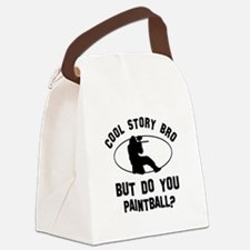 Paintball designs Canvas Lunch Bag