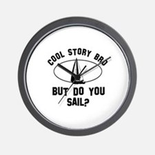 Sail designs Wall Clock