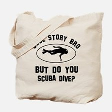 Scuba Dive designs Tote Bag