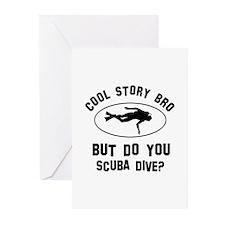 Scuba Dive designs Greeting Cards (Pk of 10)