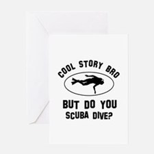 Scuba Dive designs Greeting Card