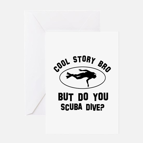 Scuba Dive designs Greeting Card