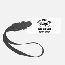 Scuba Dive designs Luggage Tag