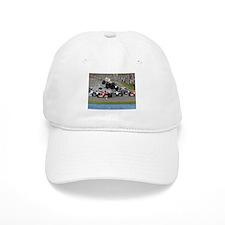 F1 Crash Baseball Baseball Cap