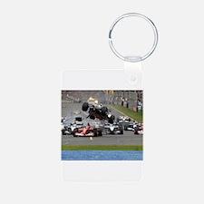F1 Crash Keychains