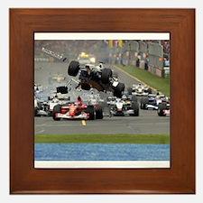 F1 Crash Framed Tile