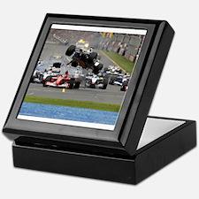 F1 Crash Keepsake Box
