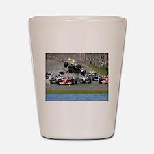 F1 Crash Shot Glass