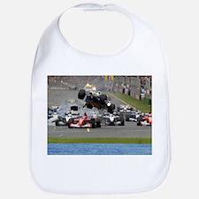 F1 Crash Bib