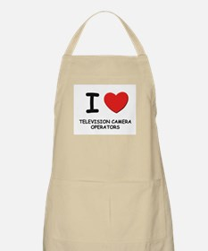 I love television camera operators BBQ Apron