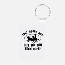Team Rope designs Aluminum Photo Keychain