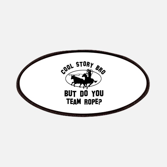 Team Rope designs Patches