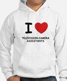 I love television camera assistants Hoodie