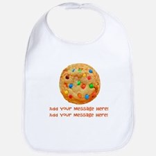 Personalize It, Chocolate Cookie Bib