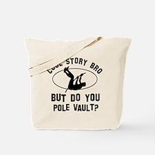 Pole Vault designs Tote Bag