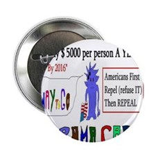 """Obamacare Repeal It 2.25"""" Button"""