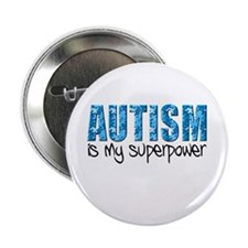 "Autism is my superpower (Puzzle) 2.25"" Button"