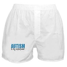 Autism is my superpower (Puzzle) Boxer Shorts