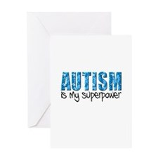 Autism is my superpower (Puzzle) Greeting Card