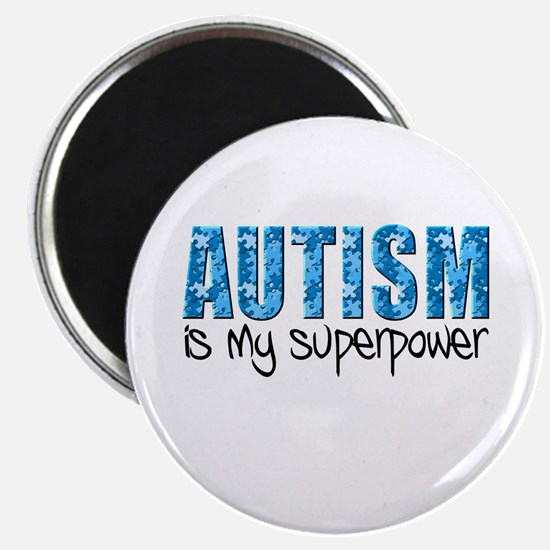 Autism is my superpower (Puzzle) Magnet