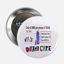 "Obamacare Repeal It 2.25"" Button"