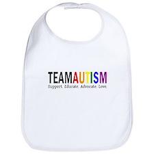 Team Autism (Rainbow) Bib
