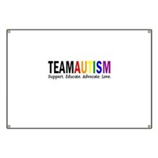 Team Autism (Rainbow) Banner