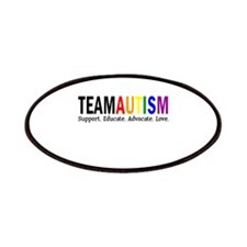 Team Autism (Rainbow) Patches