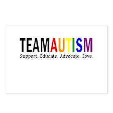 Team Autism (Rainbow) Postcards (Package of 8)