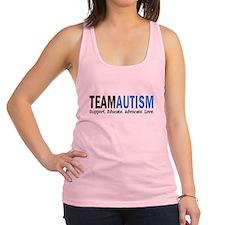 Team Autism (Blue) Racerback Tank Top