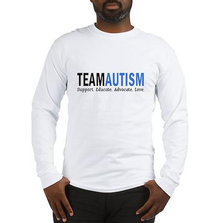 Team Autism (Blue) Long Sleeve T-Shirt