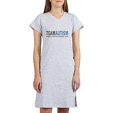 Team Autism (Blue) Women's Nightshirt