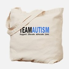 Team Autism (Blue) Tote Bag