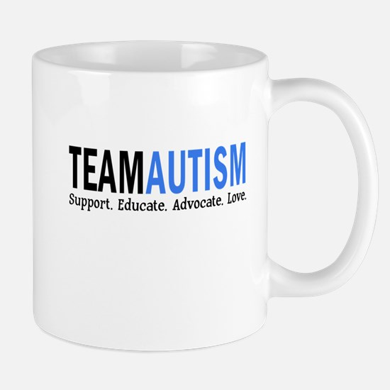 Team Autism (Blue) Mug