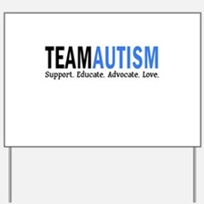 Team Autism (Blue) Yard Sign