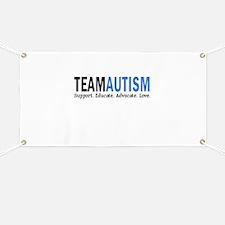 Team Autism (Blue) Banner