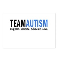 Team Autism (Blue) Postcards (Package of 8)