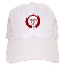 Photography is my Zen-1-red Baseball Baseball Cap