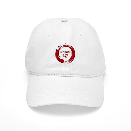 Photography is my Zen-1-red Baseball Cap