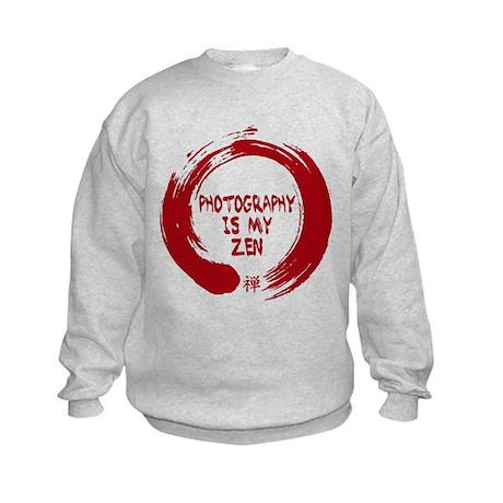 Photography is my Zen-1-red Sweatshirt
