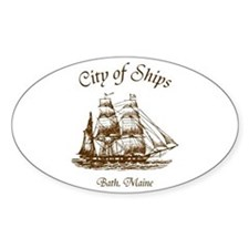 City of Ships Decal